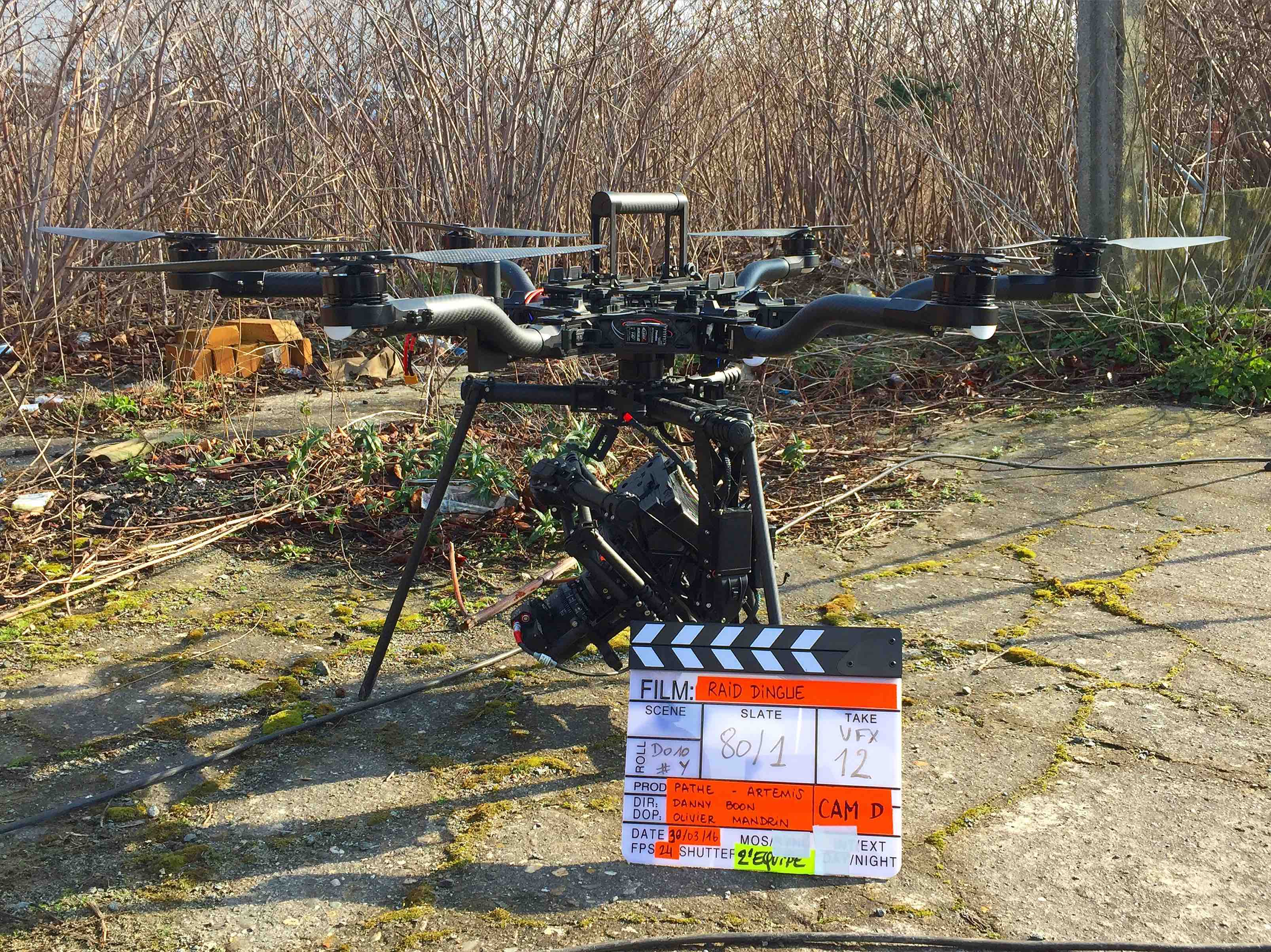 Drone Ardèche acquires Freefly drones ALTA 8 for cinema shooting