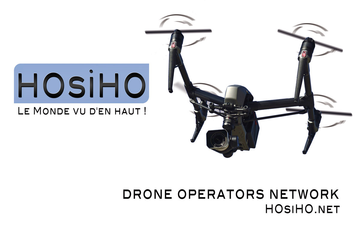 HOsiHO stock agency creates its drone pilots network in France!