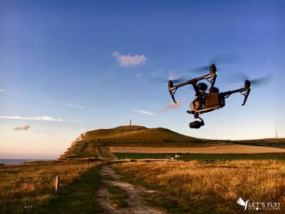 Commercial drone crew for your corporate, publicity and cinema production