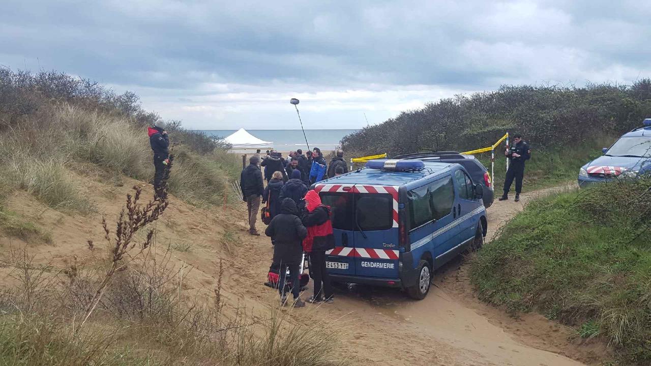 MEURTRE A OMAHA BEACH en Drone