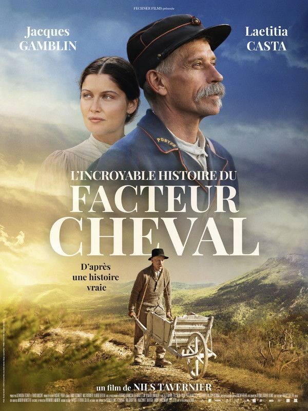 Usage des drones pour le cinéma avec la sortie du film «L'Incroyable Histoire du Facteur Cheval»