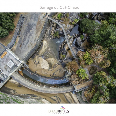Inauguration des travaux de déconstruction du barrage du Gué Giraud à Saint Junien, Haute-Vienne
