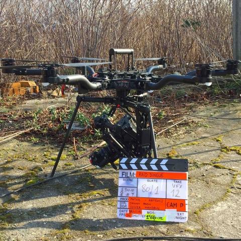 Drone Ardèche s'équipe en drones cinéma Freefly ALTA 8