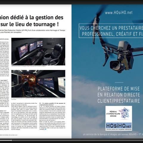 HOSIHO DRONE NETWORK FAIT SA PUB EN A4 !