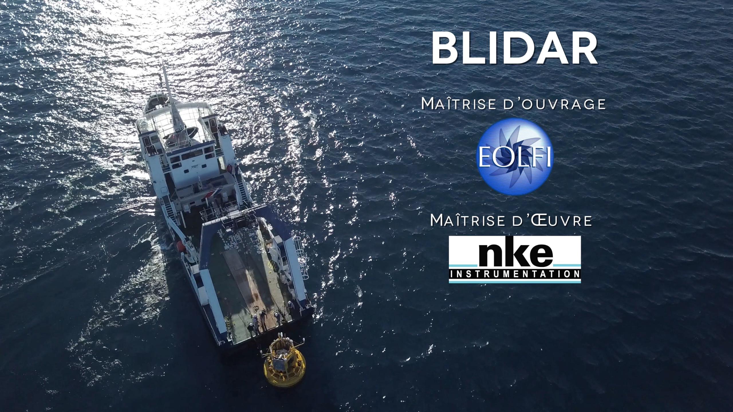 Production d'un film pour EOLFI, par Drone-Pictures