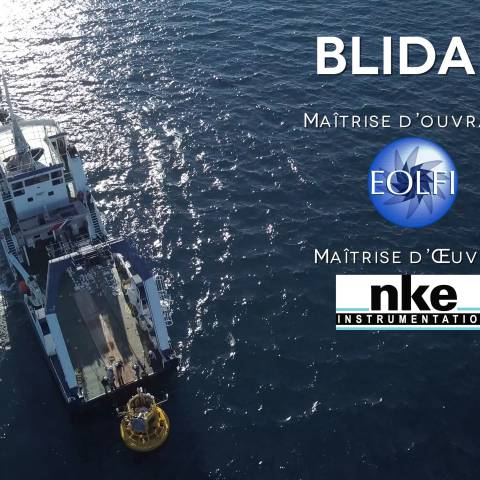 Production d'un film pour EOLFI, par Drone-Pictures
