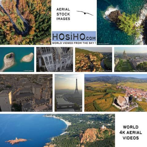 Vues aériennes de Bretagne vue par drone sur HOsiHO.com